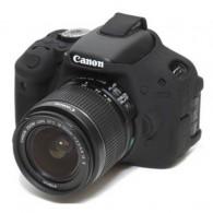 Capa / Case Silicone Para Proteção Canon T6i / 750d Preta
