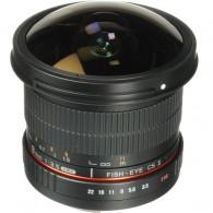 Lente Cine Samyang 8mm F/3.5 Hd Fisheye Para Canon