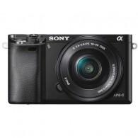Câmera Mirrorless Sony Alpha A6000 com 16-50mm