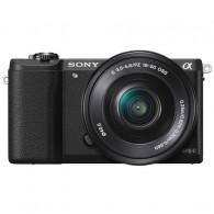 Câmera Mirrorless Sony Alpha A5100 com 16-50mm