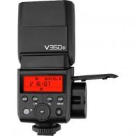 Flash Godox V350 com duas baterias para Sony