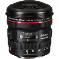 Lente Canon Ef 8-15mm F/4l Usm Fisheye - Produto Oficial