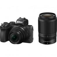 Câmera Nikon Z 50 Com 16-50mm + 50-250mm Mirrorless