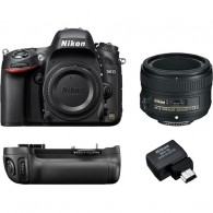 Super Kit Nikon D610 + 50mm 1.8g + Grip Ori + Adap. Wifi