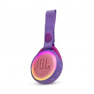 Caixa De Som Bluetooth Jbl Jr Pop Kids Com Alça - Lilas