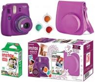 Kit Câmera Instantânea Instax Mini 9 Com filme - Açaí
