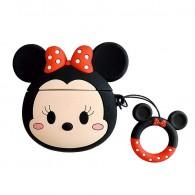 Case De Proteção Para Apple AirPods 1 e 2 Minnie Mouse 3