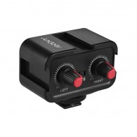 Mixer Central Adaptador P/ Usar Dois Microfones Andoer Ws-v2