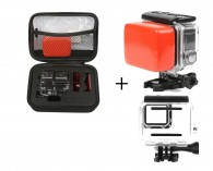 Kit Caixa Estanque Gopro Hero 5 / 6 / 7 Black Com Case