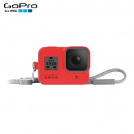Capa Silicone Sleeve GoPro Hero 8 Black + Cordão Layard - Vermelho