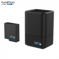 Carregador Duplo + Bateria Gopro Hero 8 7 6 5 Black Original