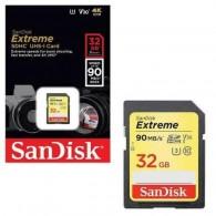 Cartão SD 32gb Sandisk Extreme 90mb/s