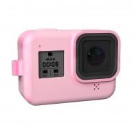 Case de Silicone Para GoPro Hero 8 Black - Rosa