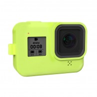 Case de Silicone Para GoPro Hero 8 Black - Verde
