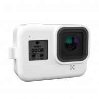 Case de Silicone Para GoPro Hero 8 Black - Branca