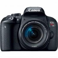 Câmera Canon Eos Rebel T7i Dslr C/ Lente 18-55mm