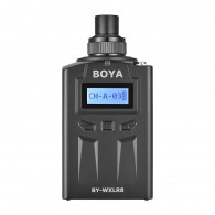 Transmissor XLR Boya BY-WXLR8 Plug-on LCD p/ BY-WM8 BY-WM6