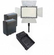 Iluminador De Led Yongnuo Yn900 Com 2x Bateria + Carregador