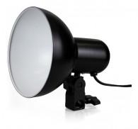 Iluminador Foto E Video Com Soquete E27 E Difusor Interno