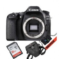 Câmera Canon Eos 80d Wifi + Cartão + Bolsa