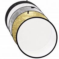 Rebatedor Circular 60cm 5 Em 1 Com Case