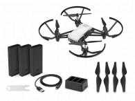 Drone Camera Dji Tello Boost Combo C/ Anatel 3 baterias
