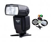 Kit Flash Viltrox Y680a P/ Canon Nikon com Difusor Geleia e brinde.