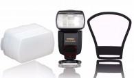 Flash Yongnuo Yn568 Nikon + Rebatedor + Difusor + Carregador