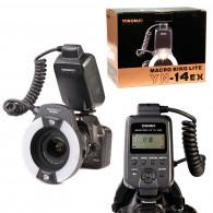 Flash Circular Ring Yongnuo YN-14 EXII Para Canon