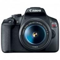 Câmera Canon Eos T7 com 18-55mm F/3.5-6.3 IS II