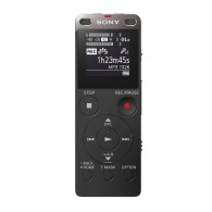 Gravador Sony Estéreo Icd-ux560f Preto 4gb