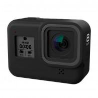 Case de silicone para GoPro Hero 8 Black - Preta