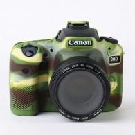Capa / Case Silicone Para Proteção Canon Eos 90d - Camuflado