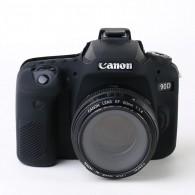 Capa / Case Silicone Para Proteção Canon Eos 90d - Preta