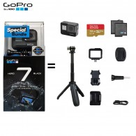 Câmera GoPro Hero 7 Black Kit Special Bundle - Oficial
