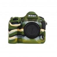 Capa / Case Silicone Para Proteção Nikon D850 Camuflada