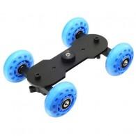 Mini Dolly Estabilizador Skate Carrinho Dslr 10kg