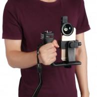 Suporte estabilizador cinema mount P/ smartphone filmagem