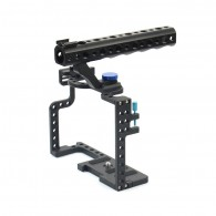 Suporte Cage Gaiola Para Dslr Sony Panasonic Lumix GH5 / GH5