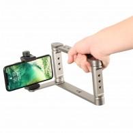 Suporte Estabilizador Video Smartphone Com sapata P Youtuber