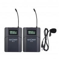 Microfone Lapela Sem Fio K&f Concept M-8 UHF