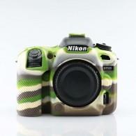Capa / Case Silicone Para Proteção Nikon D7500 Camuflada
