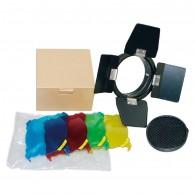 Kit Bandoor Godox BD-03 com 4 Filtros P/ Tocha