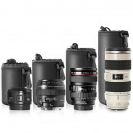 Porta / Case para lente Proteção Neopreme Tamanho P 50mm