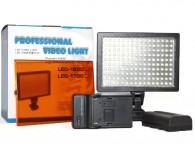 Iluminador De Led 1600 Com Bateria E Carregador Bi-color
