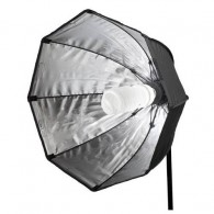 Softbox Octagonal 55cm Star Light Com Tela Difusora e Soquete