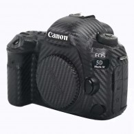 Kit Filme Fibra Carbono Anti-risco P/ Câmera Canon 5d Mark IV