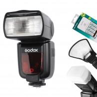Kit Flash Godox TT585C Ttl Canon + Rebat + Car. Sony + Difusor