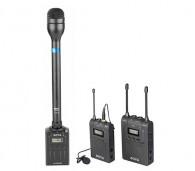 Kit Microfone Boya By-hm100 + By-wxlr8 + By-wm6 Completo
