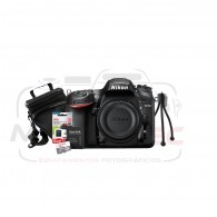 Super Kit Nikon D7200 Corpo + Tripé + Cartão 32gb + Case